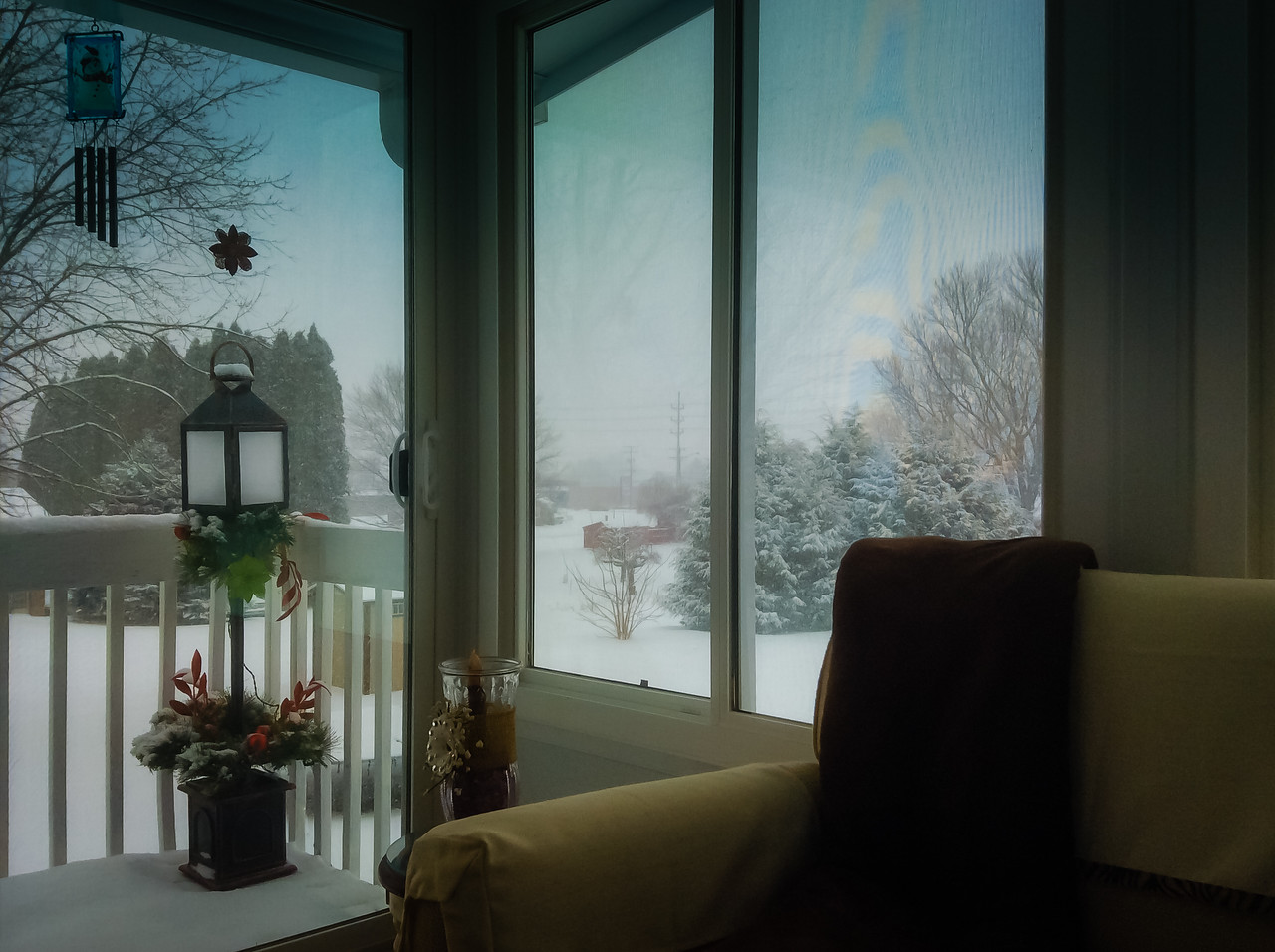 Winter Day from the Sun Room