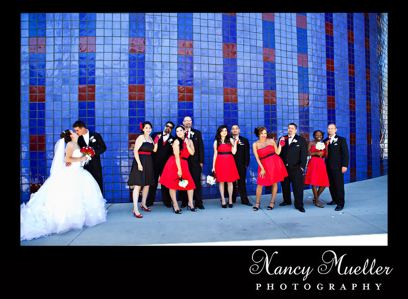 San Jose wedding, Fairmont, Tech Museum