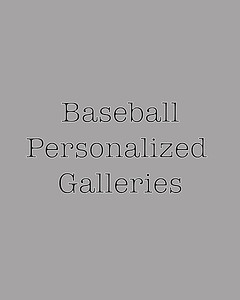 Baseball personalized Galleries