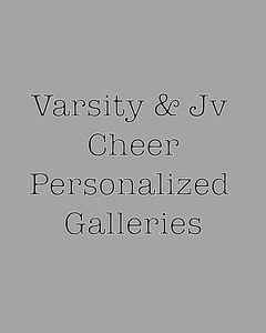 CHS Football personalized cheer galleries