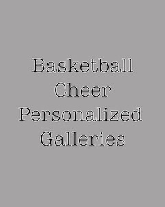 CHS Basketball Cheer personalized galleries