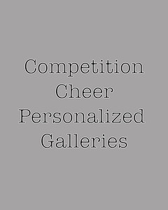 Competition Personalized Galleries