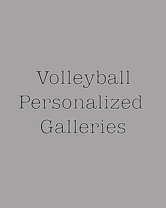 Volleyball Personalized galleries