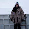 2007; Churchill, Kanada - beim Eisbären fotografieren - hier auf der Plattform des Tundra-Buggy