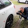"""Mille Miglia 2019 - Belegfoto der """"Arbeitsspuren"""" am eigenen Auto..."""