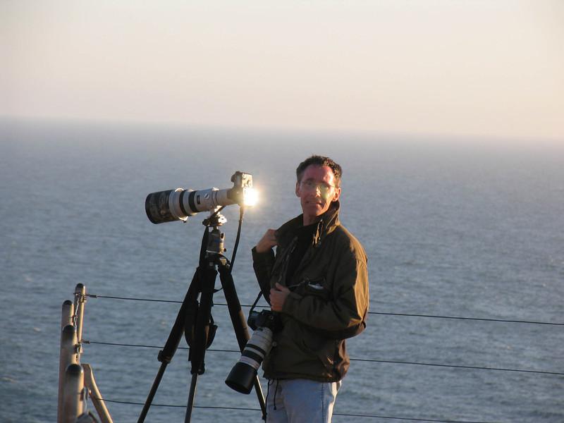 2006: Helgoland am Vogelfelsen bei den Baßtölpeln... heißgelaufene Kamera.... :)