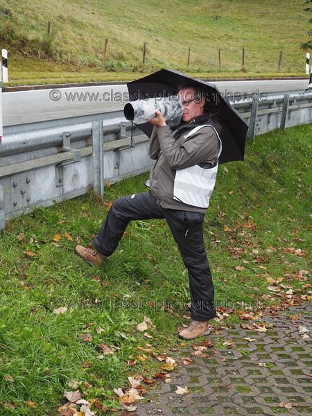 Jochpass 2016 - mal wieder ein Regentag, aber schöne Gischtwolken bei den Vorkrieglern... (mein Lieblingswetter... :))