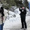 Winterraid 2015: Standard Foto-Spot auf dem Ofenpass, diesmal mit ganz wenig Schnee <br /> ...proudly presents - Ruedi... der versteckt sich wieder mal....