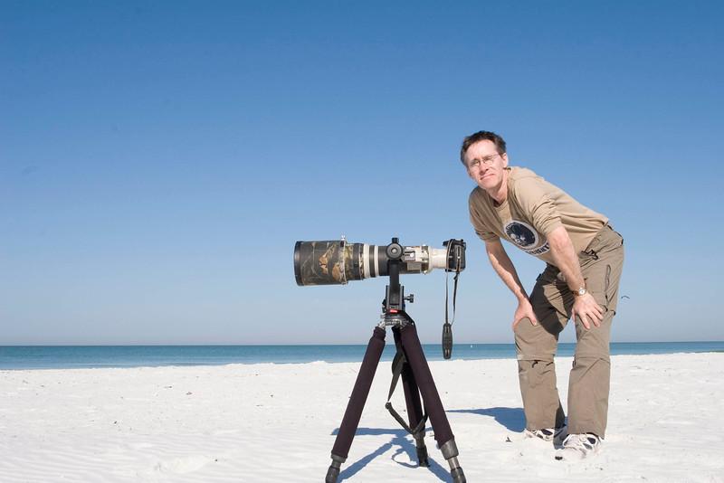 2008, Florida... Vogelfotografie am Strand... mal was anderes...