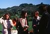 1979-XX-XX - Jan Moline, Unkown, Paul Gennis and unknown at their wedding in Berkeley, CA
