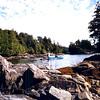 1996-08-15 - In the bay of a small island near Tofino, BC, Canada