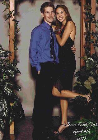 2003-04-04 - Paul & Becca at Frosh-Soph Dance