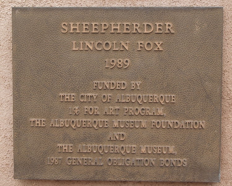 Information concerning sculpture at Albuquerque Museum