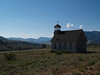 Old church in Creede America neighborhood waiting to be restored, Creede, CO