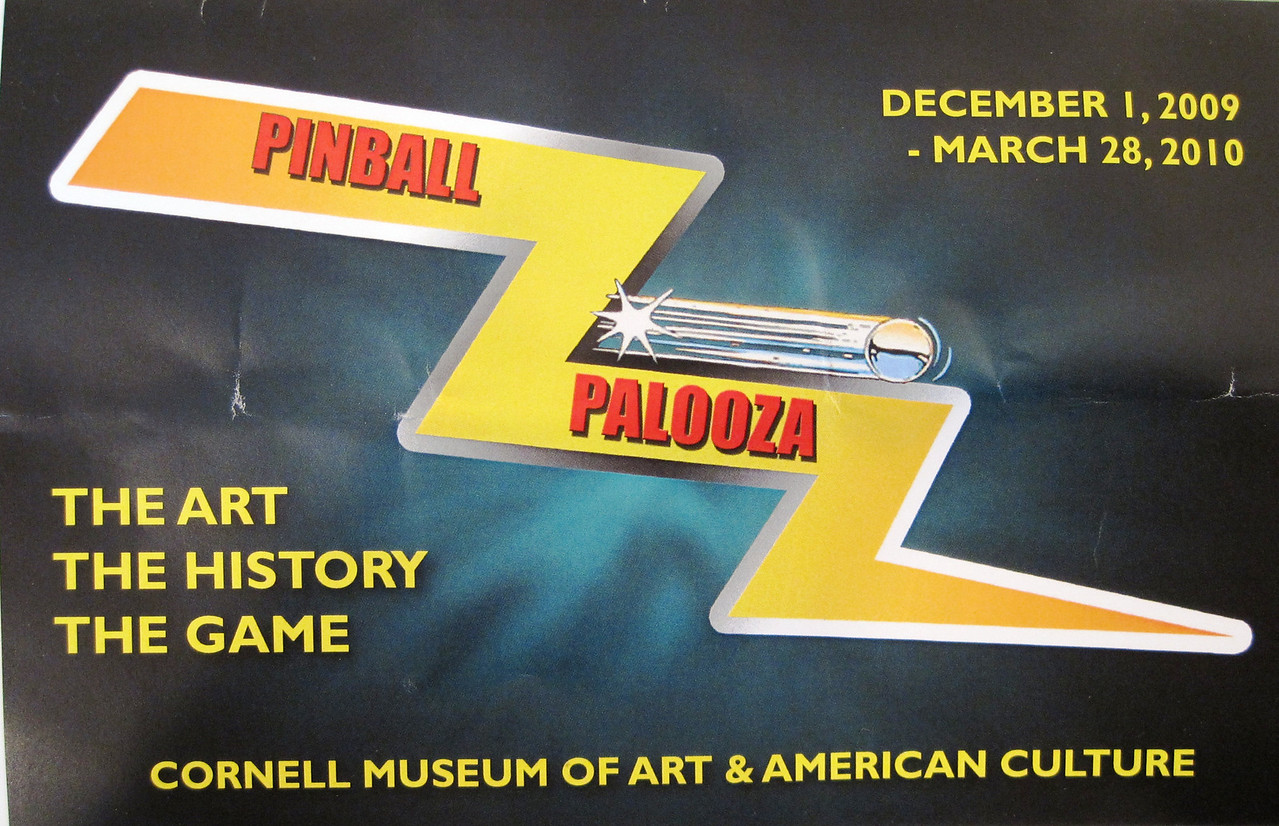 2009-12-23 - Pinball game history exhibit at Cornell Museum of Art and American Culture