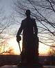 2009-02-25 - Statue of Ezra Cornell at Cornell University in Ithaca, NY, USA