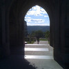 2010-08-27 - View through the WWI War Memorial at Cornell University