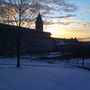 2010-01-13 - Winter Sunset at Cornell University