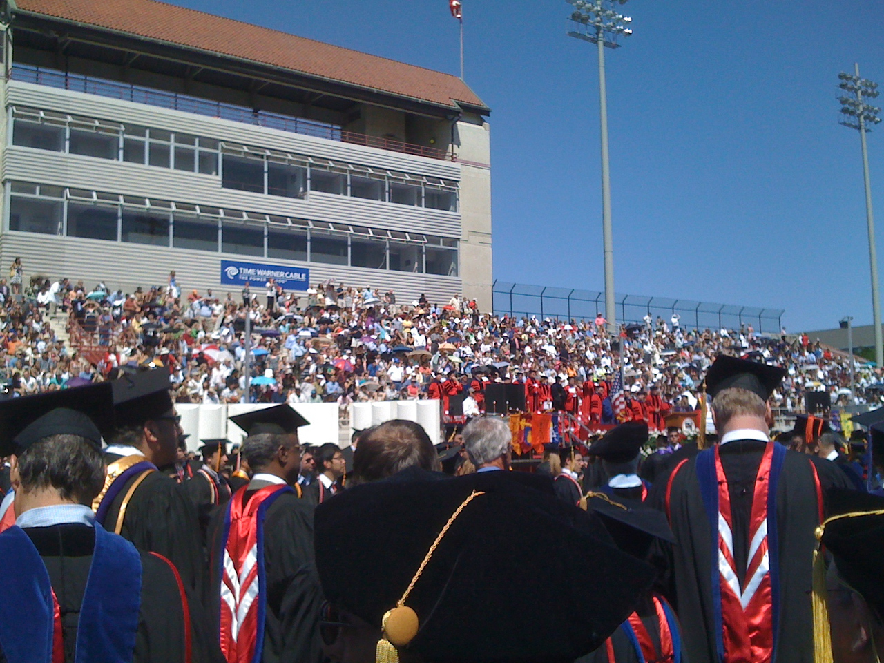 2010-05-30 - Cornell University's 142nd Commencement at Schoellkopfh Field (2)