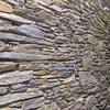 2010-05-14 - Flat stone wall of Meroux Building in Downieville, CA