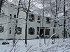 2012-01-13 - View through the trees toward 906 Triphammer Rd , Ithaca, NY, USA