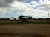 2012-06-17 - View from Room 124 of Quilt Inn in Kenmare, ND, USA