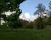 2012-05-16 - Looking from Liebe Slope toward Tjaden and White Halls at Cornell University, Ithaca, NY, USA