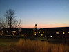 2012-12-03 - Sunset from front of Physical Sciences above East Ave at Cornell University, Ithaca, NY, USA