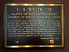 2012-09-16 - E B  White plaque in Sage Chapel at Cornell University, Ithaca, NY, USA