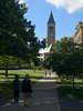 2012-09-16 - McGraw Tower from the Arts Quad at Cornell University in Ithaca, NY, USA