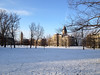 2012-03-04 - Arts Quad with light dusting of snow, Ithaca, NY, USA