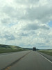 2012-06-17 - North Dakota with clouds in the sky