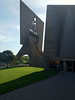2012-06-17 - St  John's Abbey and University Church - Bell Tower and part of the church - Collegeville, MN, USA