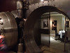 2012-04-21 - Looking through vault door into private dining room at Crop Bistro in Ohio City area of Cleveland, OH, USA