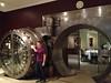 2012-04-21 - Ken Kalynchuck guarding the vault at Crop Bistro in Ohio City