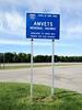 2012-06-14 - AMVETS Memorial Highway sign on I-90 near Rochester, NY, USA