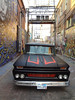 2013-07-06 - Vintage truck in art Alley at Rapid City, ND, USA