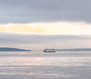 2013-08-02 - Ferry boat on a gray evening in Seattle, WA, USA
