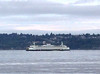 2013-08-02 - Ferry boat with West Seattle in the backgound in Seattle, WA, USA