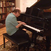 2013-12-25 - David Frank on piano and Catherine Sills singing
