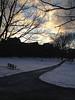 2013-02-06 - Dramatic sky over Arts Quad at Cornell