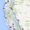 2013-12-31 - 2013 Holiday Trip Route