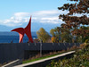 2013-10-27 - Calder with trees and bushes - Olympic Sculpture Park - Seattle, WA, USA