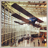 2013-06-19 - Vintage aircraft hanging in the Seattle-Tacoma International Airport terminal