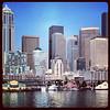 2013-07-20 - Downtown Seattle from the Bainbridge Island ferry