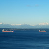 2013-12-07 - Two freighters