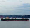 2013-09-06 - 2801 Western Ave - Frieighter and a tug boat - Seattle, WA, USA