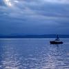 2013-11-13 - Small boat in Elliott Bay - Seattle, WA, USA