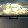 2014-04-27 - 2801 Western Ave, #1009 - View out over Elliott Bay - Early evening mix of light and clouds