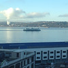 2014-03-11 - Ferry departs Seattle on a sunny morning